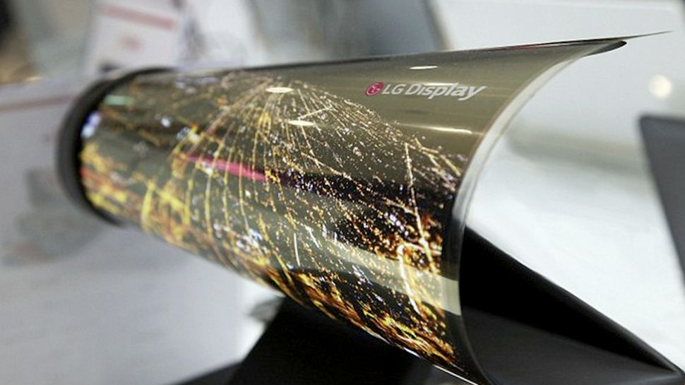LG Bendable Display 970 80