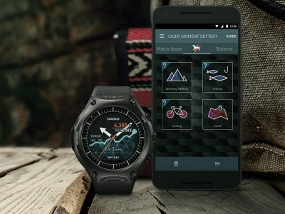 "Casio WSD-F20 будут поставляться с Android Wear 2.0 ""на борту"""